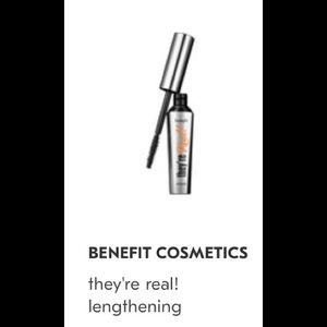 NEW Benefits There Real black mascara